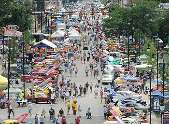 Down On Main Car Show Downtown Clawson - Car show downtown